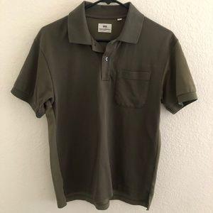 "Uniqlo ""Two-Tone"" Polo Shirt"